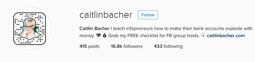 Caitlin Bacher Instagram Bio. jpg