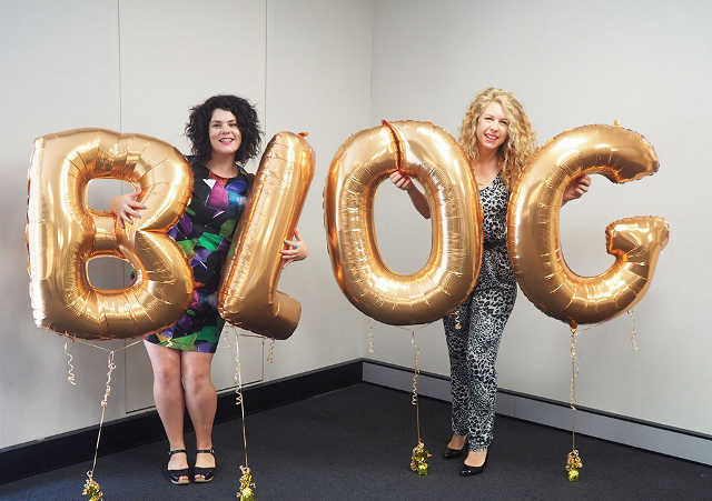 Carly Jacobs and Christina Butcher - Little Blog Big