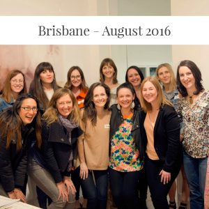 Sarah Jensen - Rock Your Goals Brisbane Workshop - August 2016