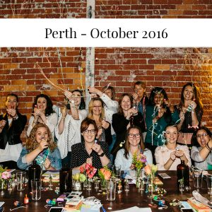 Sarah Jensen - Rock Your Goals Perth Workshop - October 2016