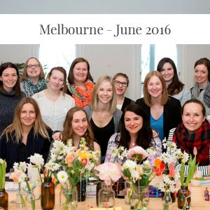 Sarah Jensen - Rock Your Goals at Aligned Melbourne - June 2016