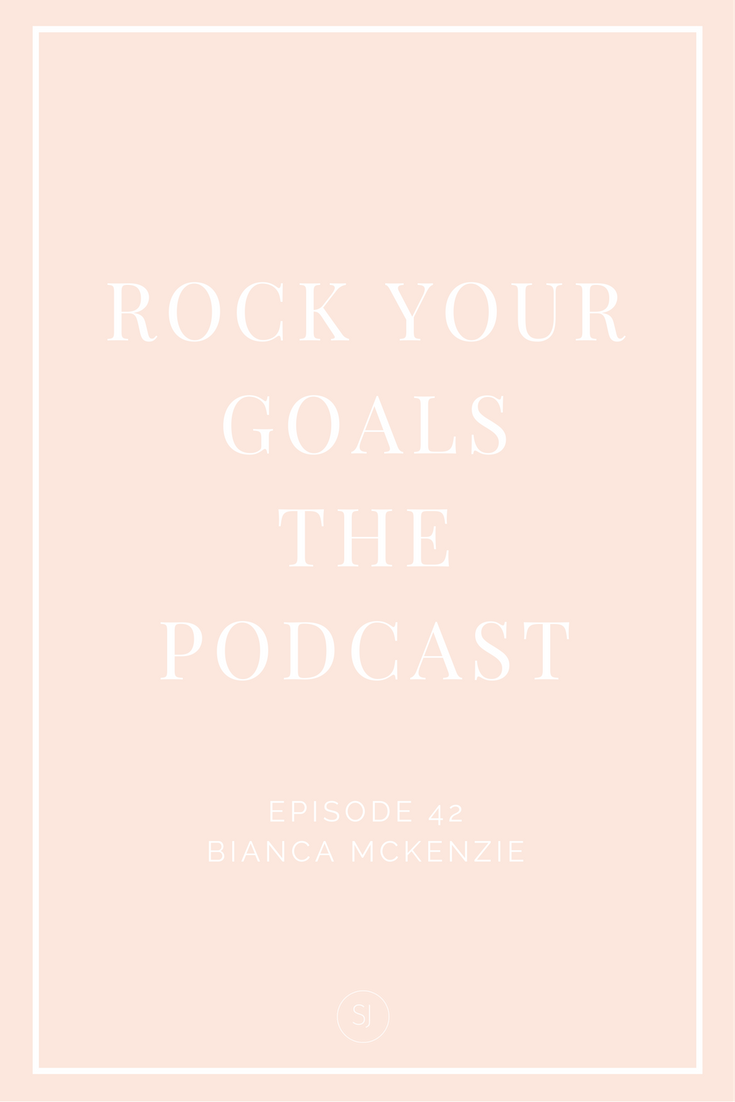 Biana McKenzie talks Facebook ads on Rock Your Goals the podcast
