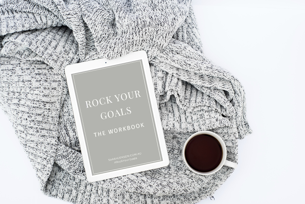 Rock Your Goals Goal Setting Workbook by Sarah Jensen