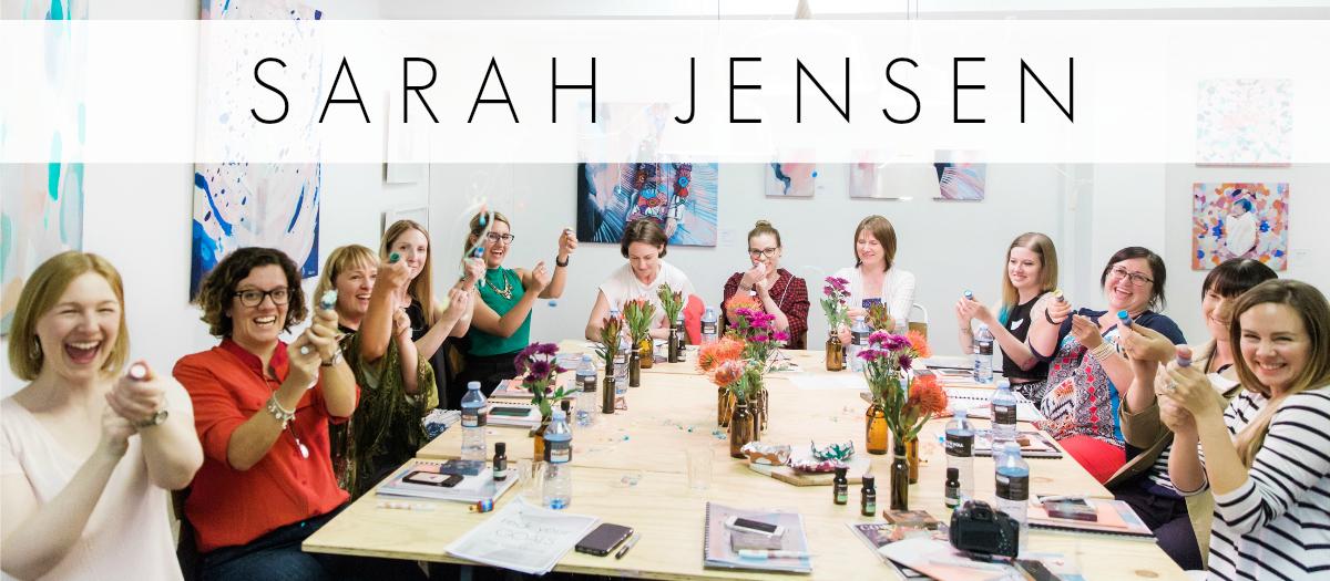 Sarah Jensen - Rock Your Goals Workshops around Australia