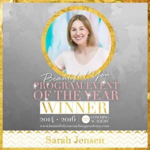 Sarah Jensen Award Winning Coach