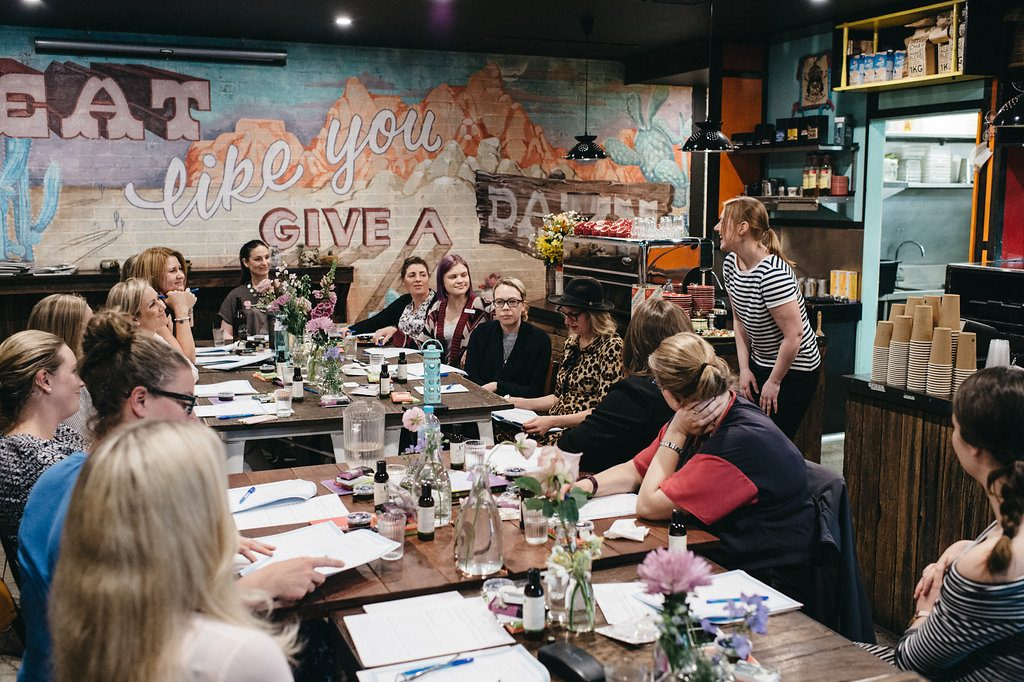 Sarah Jensen's Rock Your Goals Canberra Workshop at Sweet Bones Bakery photographed by Lauren Campbell