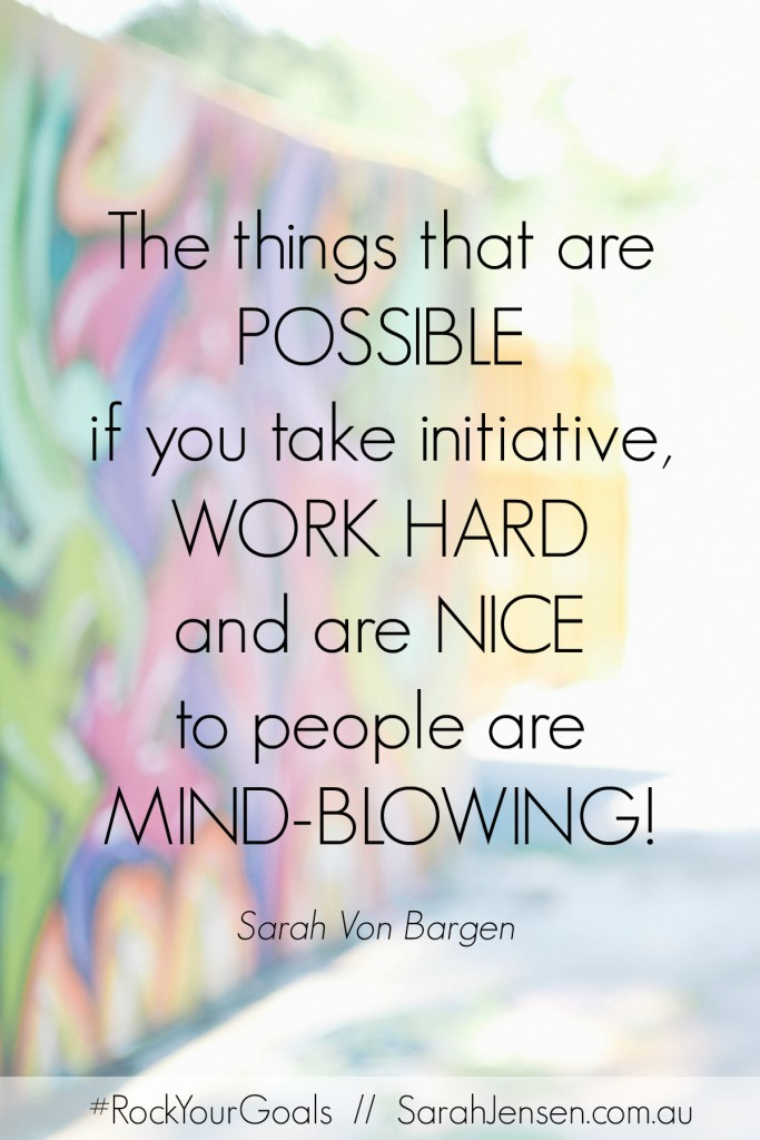 Sarah Von Bargen - Rock Your Goals the Podcast