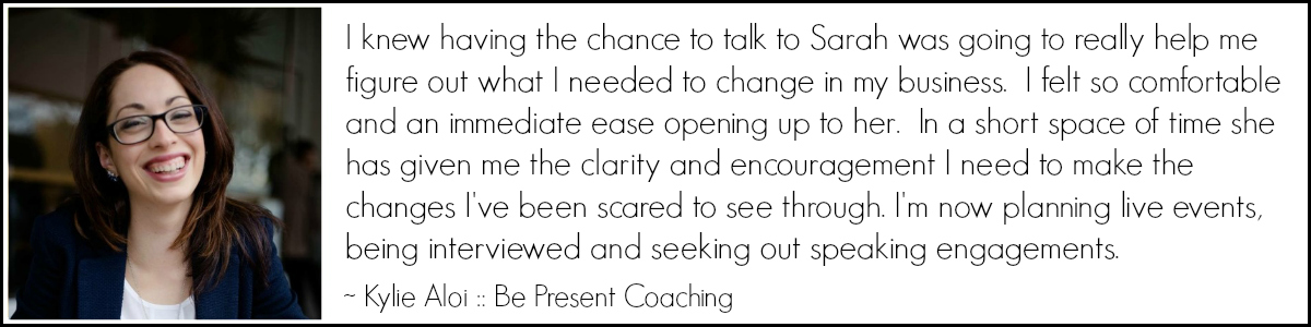 Kylie Aloi - Be Present Coaching