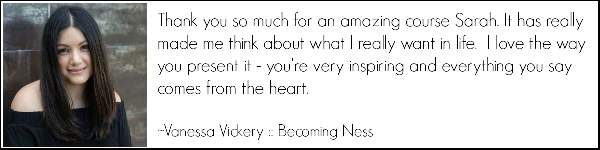 Vanessa Vickery - Becoming Ness
