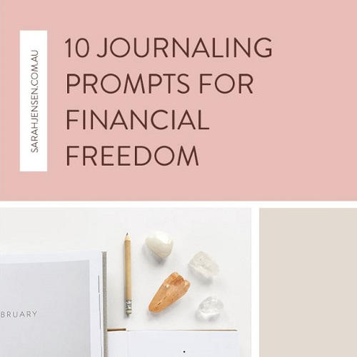 10 Journaling prompts for financial freedom