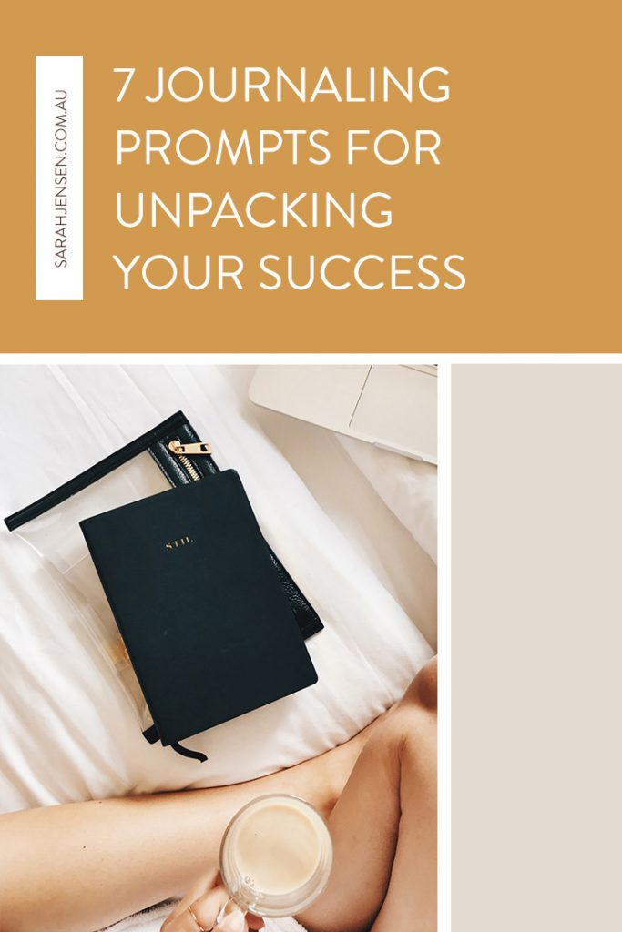 7 journaling prompts for unpacking success