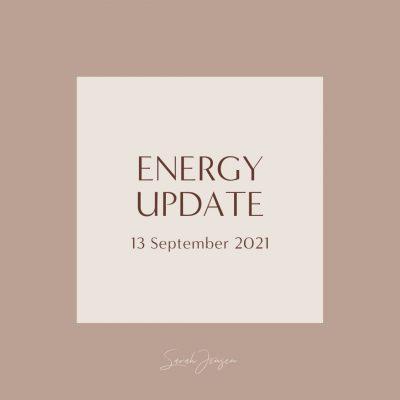 Energy Update - 13 September 2021