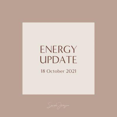 Energy Update - 18 October 2021