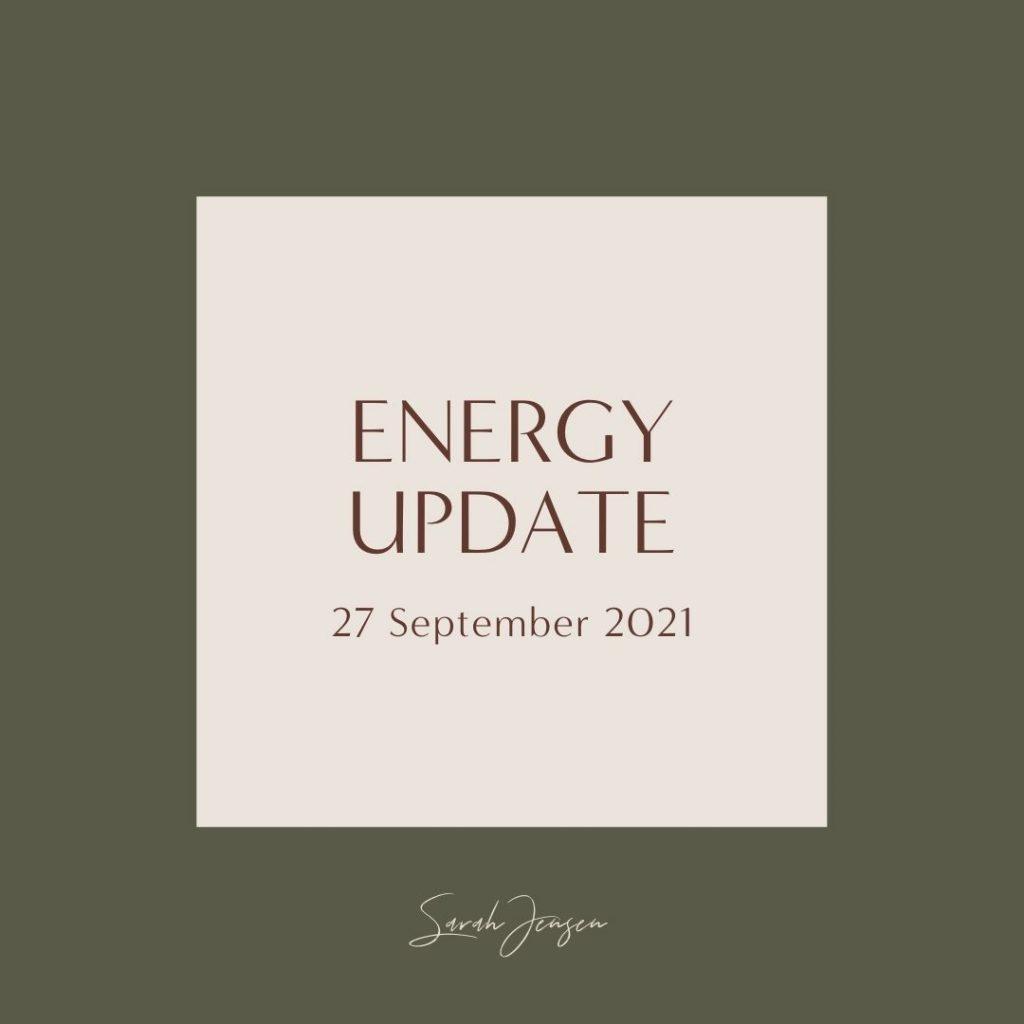 Energy Update - 27 September 2021