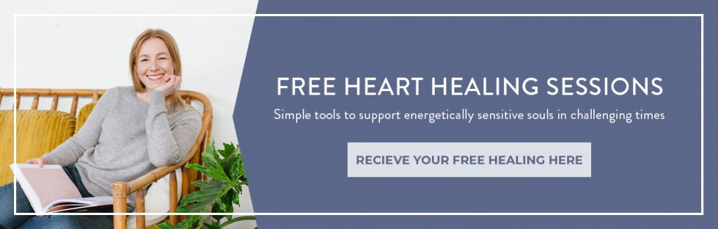 Free Heart Healing Sessions with Sarah Jensen