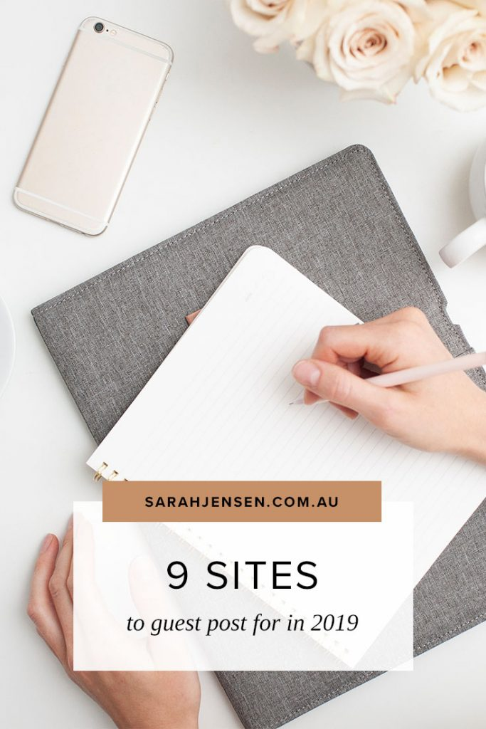 Where to guest post in 2019 #bloggingtips