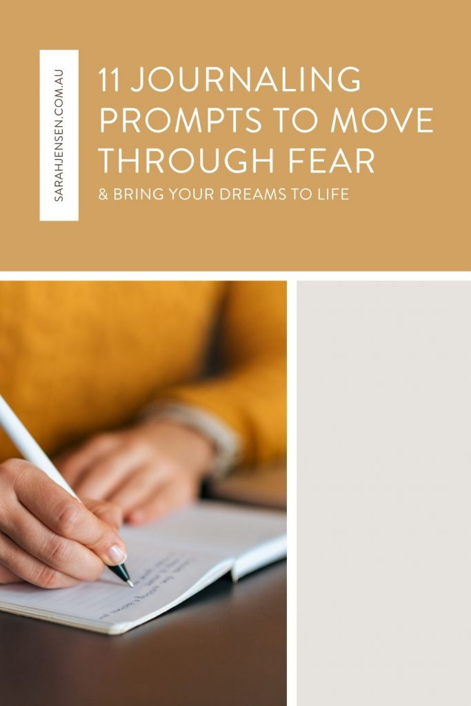 11 journaling prompts to move through fear