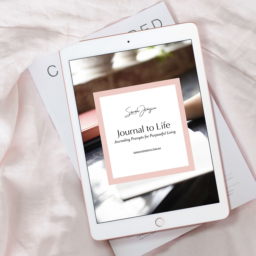 Journal to Life - Journaling Course by Sarah Jensen