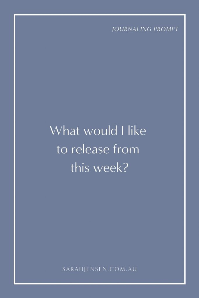 What would I like to release from this week?