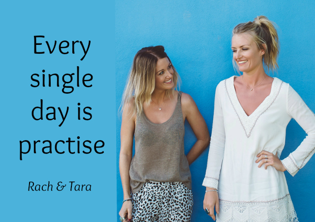 Every single day is practise - Rachel MacDonald and Tara Bliss