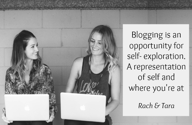 Blogging is an opportunity for self exploration
