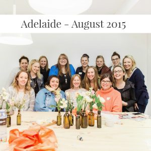 Sarah Jensen - Rock Your Goals Adelaide Workshop - August 2015