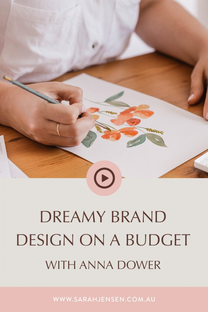 Rock Your Goals Podcast episode 14 - Dreamy brand design on a budget with Anna Dower