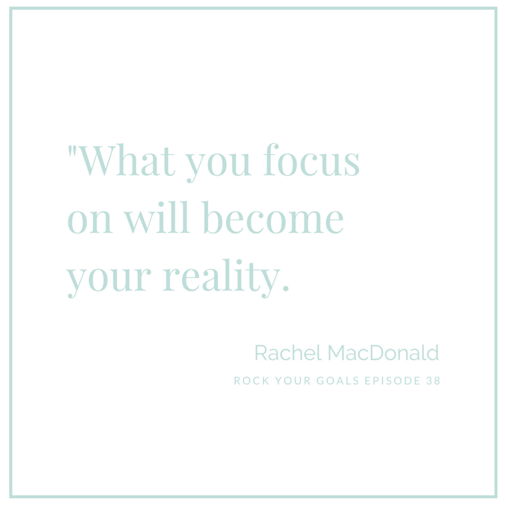 Rachel MacDonald talks conscious creation on Rock Your Goals the podcast.