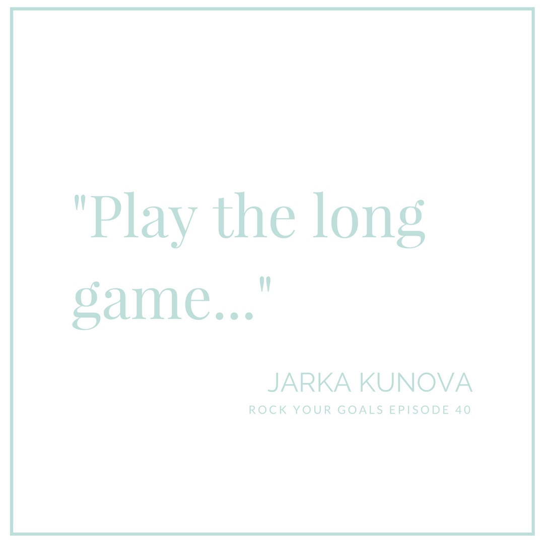 Jarka Kunova shares how to grow your business with great free content, creating in your zone of genius and embracing the power of social proof on #RockYourGoals the podcast.