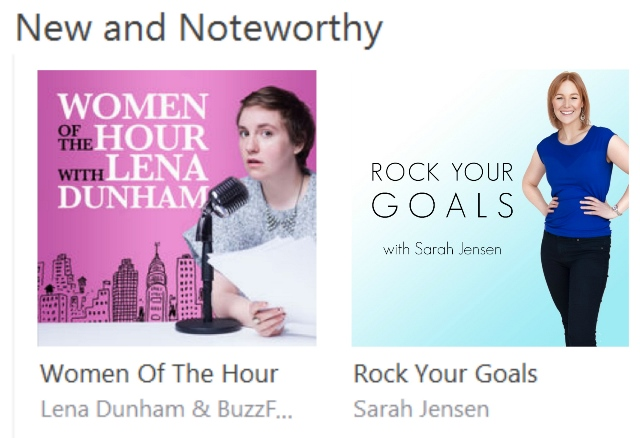 Rock Your Goals the Podcast - New & Noteworthy on iTunes