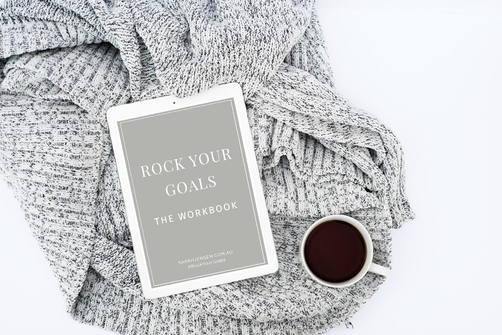 Rock Your Goals the Workbook by Sarah Jensen