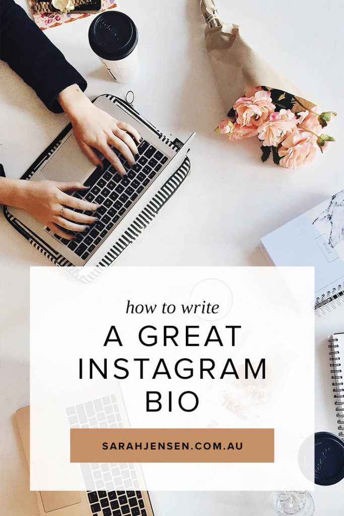 How to write a great Instagram bio