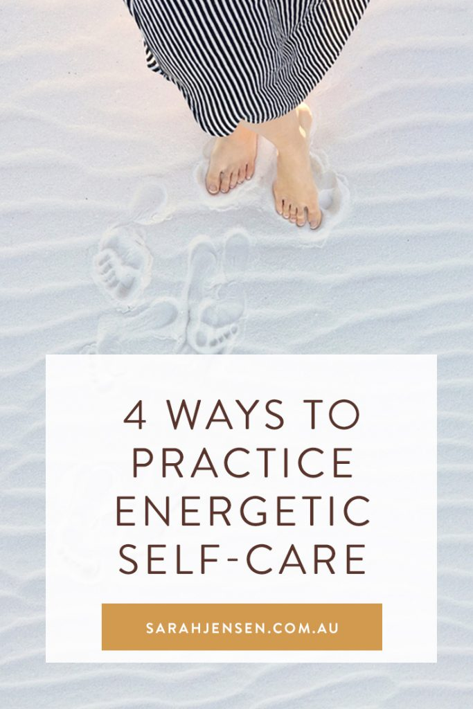 4 ways to practice energetic self-care